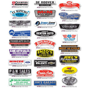 Trunk Decals From US Auto Supplies
