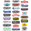Trunk Stickers - White Vinyl | US Auto Supplies