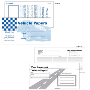 Vehicle Document Folders | US Auto Supplies