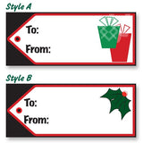Holiday Gift Tag Decals | US Auto Supplies
