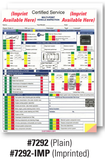 GM Multi Point Inspection Form | US Auto Supplies