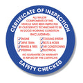 Safety Inspection Stickers | US Auto Supplies
