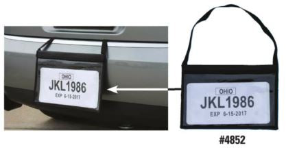 Tag Bag License Plate Holder | US Auto Supplies