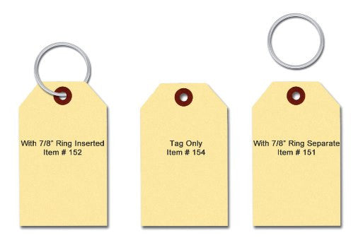 Blank Key Tags | US Auto Supplies