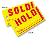 Sold Hold Tags | US Auto Supplies