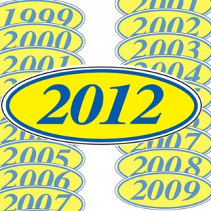 Model Year Stickers | US Auto Supplies