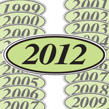 Year Stickers | US Auto Supplies