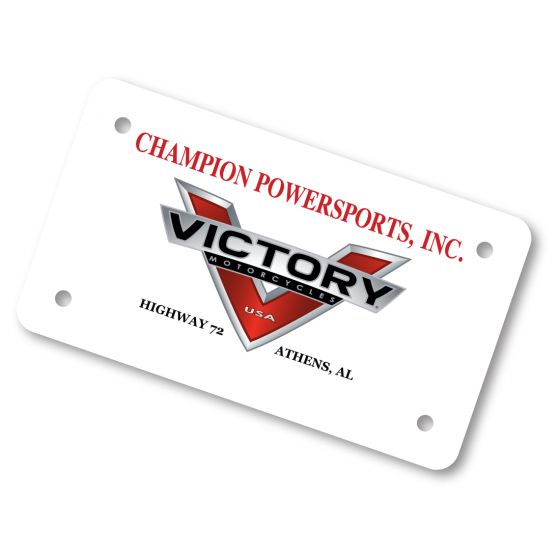Motorcycle Plate Inserts | US Auto Supplies