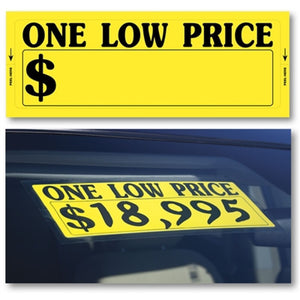 Low Price Car Windshield Sticker | US Auto Supplies