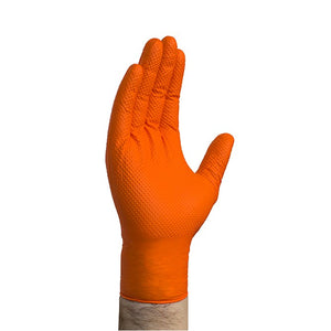 Orange Nitrile Mechanics Gloves | US Auto Supplies
