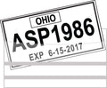 Temporary License Plate Protectors | US Auto Supplies