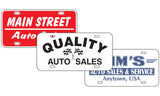 Dealer License Plate Inserts | US Auto Supplies
