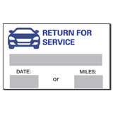Service Reminder Stickers | US Auto Supplies