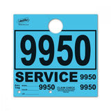 Blue Mirror Hang Tags | US Auto Supplies
