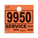 Orange Service Hang Tags | US Auto Supplies