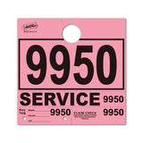 Pink Service Tags | US Auto Supplies