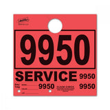 Red Service Hang Tags | US Auto Supplies