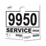 White Service Hang Tag | US Auto Supplies