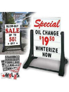 car dealer supply I sidewalk sign | US Auto Supplies