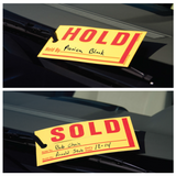 Sold Hold Tags For Car Dealers | US Auto Supplies