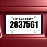 Tear Resistant Temporary Tags | US Auto Supplies
