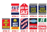 Car Hood Message Signs | US Auto Supplies
