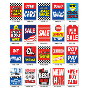 Car Dealer Under Hood Signs | US Auto Supplies