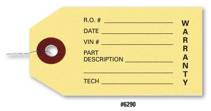 Parts Tags | US Auto Supplies