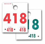 Service Mirror Hang Tags From US Auto Supplies