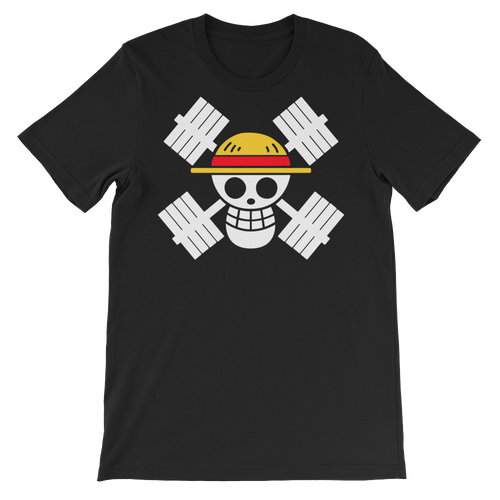 Mugiwara Lifting Crew - Tee (black)