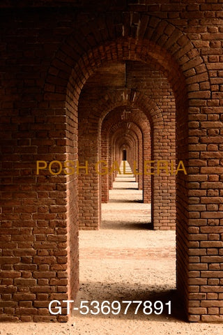 ARCHED DOORWAYS IN BRICK