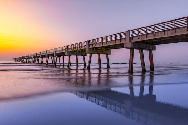 LONG PIER INTO PURPLE HORIZON - AUSTRALIA