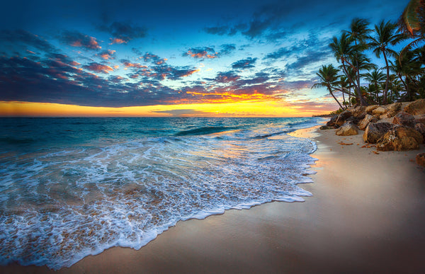 TROPICAL BLUE SUNSET
