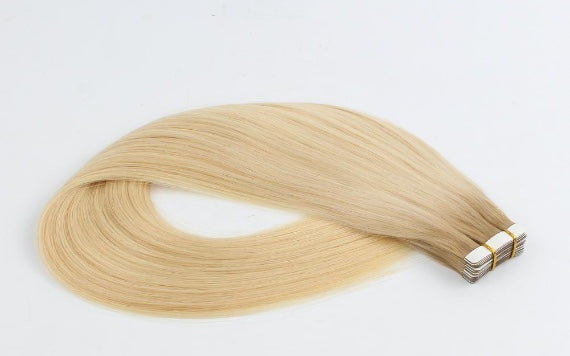 Rooted Remy Tape-In Hair Extensions