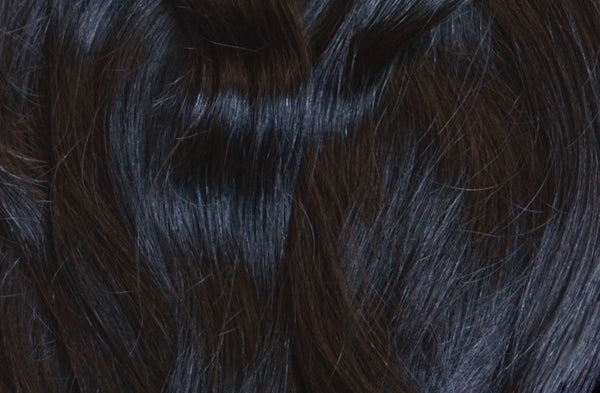 ProLuxe Remy Collection: Tape-In Extensions Color Black #1 22 inches in length