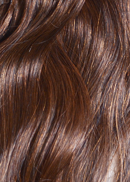 ProLuxe Remy Collection: Tape-In Extensions Color Chocolate Sparkle 16 inches in length