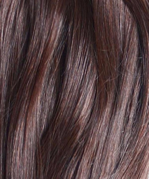 Coconut Brown Clip-In Hair Extensions- 20 inches / 200 gram full head set of 100% Remy clip-in human hair extensions