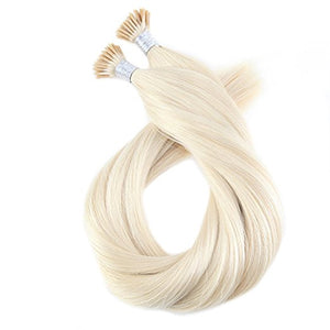 Remy I-Tip Hair Extensions-14 inches in Length in Classic, Balayage, Ombre, and Highlighted Colors