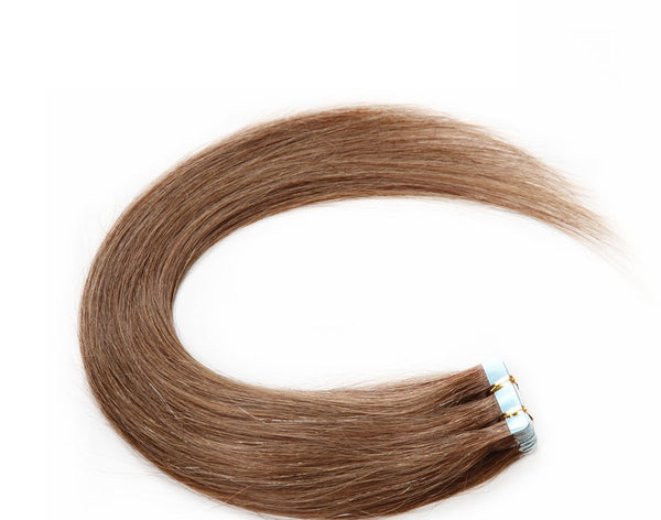 Light Brown (#10) Remy Tape-In Hair Extension