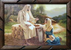 Jesus and the Samaritan Lady