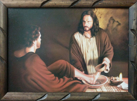 Jesus Washes Disciple's Feet