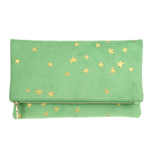 Stars and Suede Clutch
