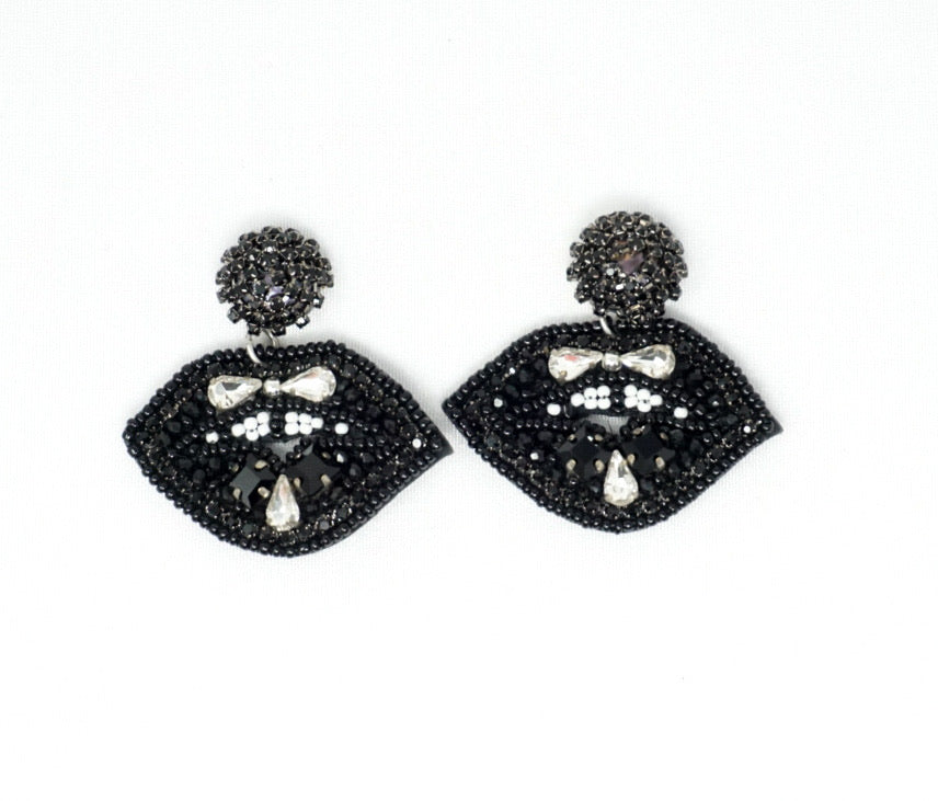 Juicy Black Earrings