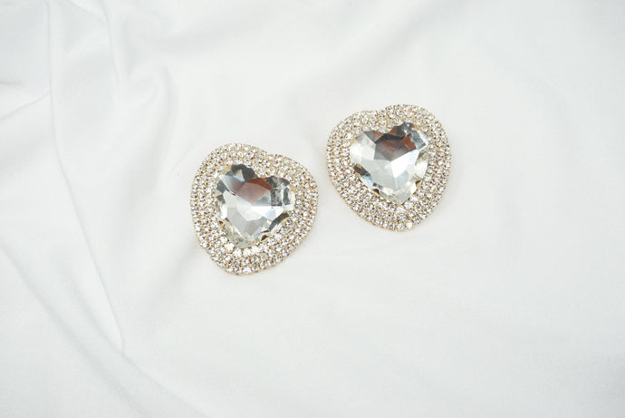 Oversized Love Stud Earrings