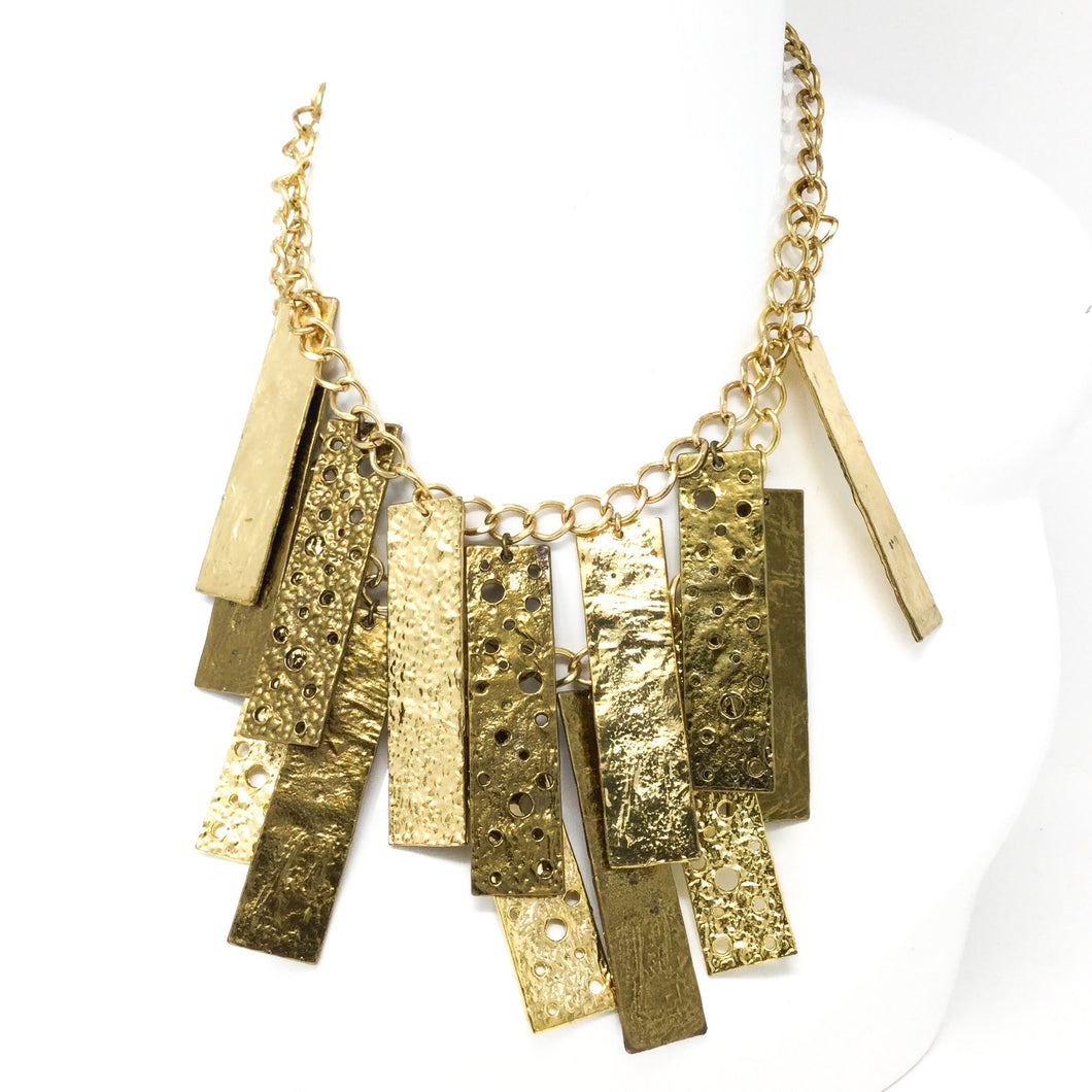Bars of Gold Necklace