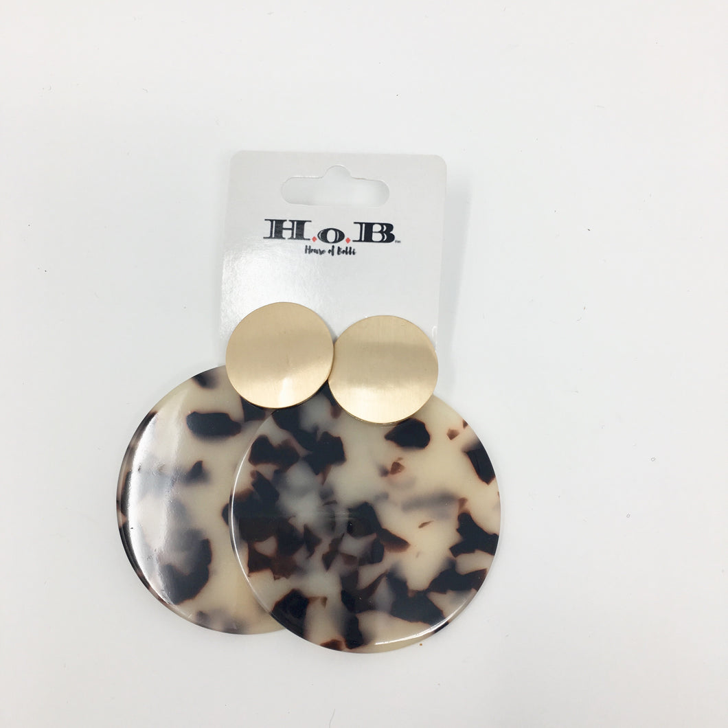 Marble World Earrings