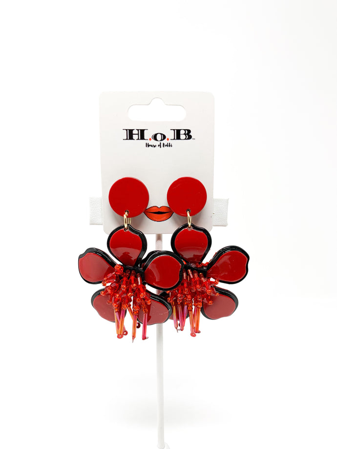 Flower Pot Earrings