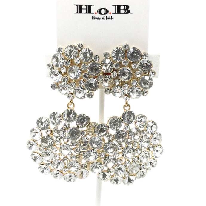 Diamond Bouquet Earrings
