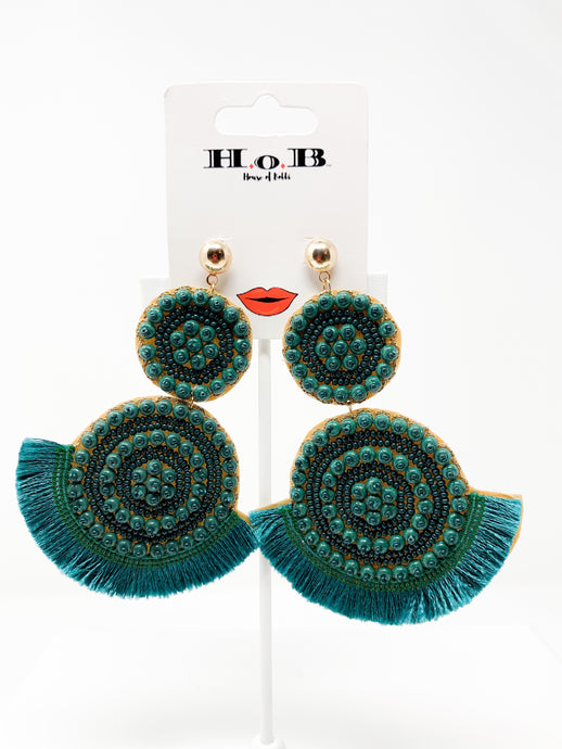 Classy Tass Tassel Earrings