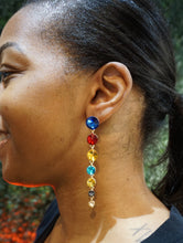 Colorful Drip Earrings
